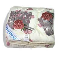 Одеяло 172х205 холлофайбер зимнее Merkys цветной поплин