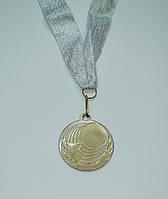 Медаль IMD-007 silver с лентой