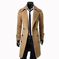Мужское демисезонное осеннее пальто. Модель 701
