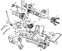 Запчасти для грузового шиномонтажного стенда Trommelberg 1580