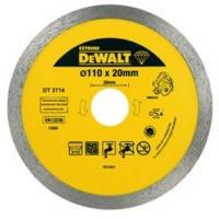 Акс.инстр DeWALT Круг алмазный по керамике 110х1.6х20.0мм.