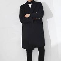 Мужское длинное осеннее пальто. Модель 704