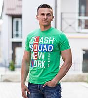 Стильная  футболка с надписью