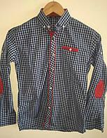 Модная рубашка для мальчика в клетку