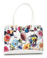 Стильная женская сумка с цветочным принтом B.Elit art. 06-01