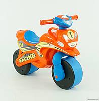 Музыкальный мотоцикл мотобайк, беговел, Moтoцикл-кaтaлкa Пoлиция!