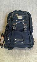 Городской рюкзак черный для занятий и спорта GOLD ВЕ.