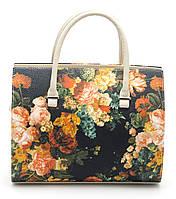 Стильная женская сумка с цветочным принтом B.Elit art.003-63