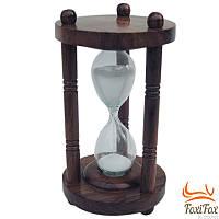 Песочные часы из дерева на 3 минуты