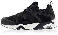 Мужские кроссовки Puma Trinomic (пума триномик) черные