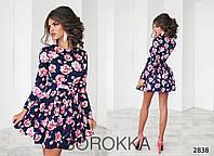 Летнее цветочное платье , фото 1
