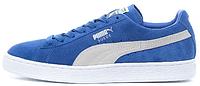Мужские кроссовки Puma Suede Classic (пума) синие