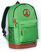Молодежный рюкзак Мегаполис Surikat ярко-зеленый