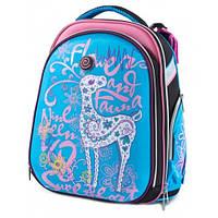Школьный рюкзак ортопедический Class Fauna 9629 каркасный для девочки Чехия