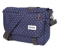 Необычная городская сумка 20 л. Delegate Eastpak EK07697I синий
