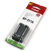 Аккумулятор батарея Canon BP-511 BP511 BP-511A BP511A емкость 1 390 mAh 5D, 10D, 20D, 30D, 300D, 40D, 50D, PowerShot G5