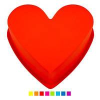 Форма Сердце для выпечки силиконовая