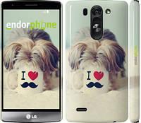 "Чехол на LG G4 Stylus H540 Йоркширский терьер и кружка ""935u-242"""
