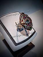 Серебряное кольцо в Османском стиле из коллекции Хюррем Султан