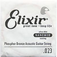 Струна Elixir 14123 Acoustic Nanoweb Phosphor Bronze .023 (акустика)