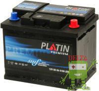 Аккумулятор PLATIN Premium 6CT- 60Ah 600A L SMF