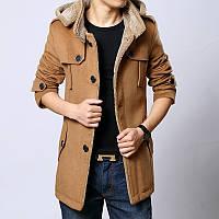 Мужское осеннее пальто-куртка. Модель 707