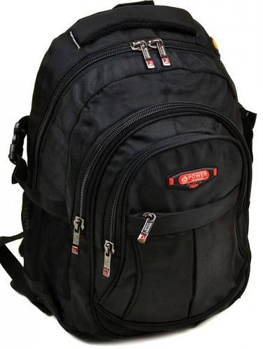 Городской рюкзак с плотной спинкой полиэстер 24 л. Power in Eavas 7874 black (черный)
