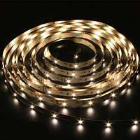 Светодиодная лента LS612/ SANAN LED-RL 120SMD(3528)/m 9.6W/m 12V 5m*10*3,8mm теплый белый IP22, Feron