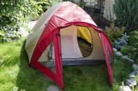 Палатка JY 1522 2-х слойная 3-4 местная