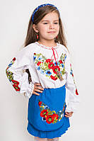 Блуза детская вышитая  (О.Л.С)