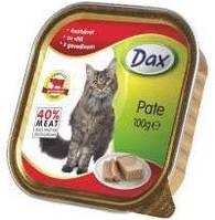 Паштет для котов Дакс (Dax, Венгрия) с говядиной, птицей 100 гр
