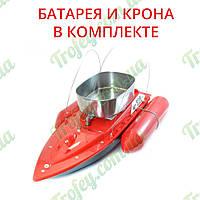 Радиоуправляемый кораблик Торнадо 5 для завоза прикормки