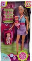 Кукла Simba Штеффи Няня 5730211 с двумя малышами близнецами