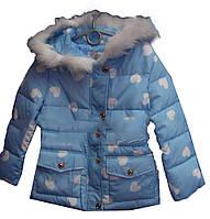 Детская куртка на девочку (6-10 лет). Осень, фото 1