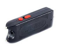 Электрошокер WS 888 Wei Shi Оса с фонариком, 2200кВ, 15Вт, пробой 25мм, чехол на пояс, 100г, пластик