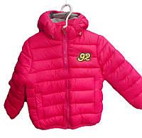 Детская куртка на девочку (2-6 лет). Осень