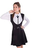 Нарядный школьный сарафан - платье для девочки подростка