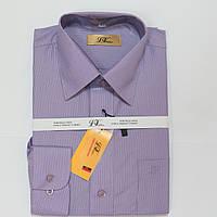 Подростковая классическая рубашка с длинным рукавом  для мальчиков 152р 158р