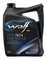 Синтетическое масло WOLF VITALTECH 5W30 ASIA/US ✔ емкость 4л.