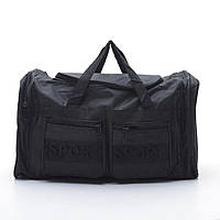 Качественная дорожная сумка черного цвета