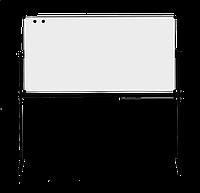 Оборотная доска для маркера ABC Office 100 x 200 см, алюминиевая рама (Киев)