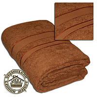 Махровая простынь светло-коричневая (150*200)