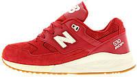 Мужские кроссовки New Balance, нью баланс красные