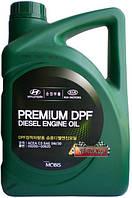 Масло моторное Mobis Premium DPF Diesel SAE 5W30 ✔ 6л