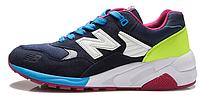 Мужские кроссовки New Balance 580, нью баланс синие