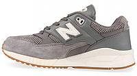 Мужские кроссовки New Balance, нью баланс серые