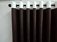 Карниз деревянный Терия коричневый одинарный 30мм/160СМ