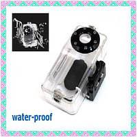 Беспроводная WiFi минивидеокамера с боксом для подводной съемки