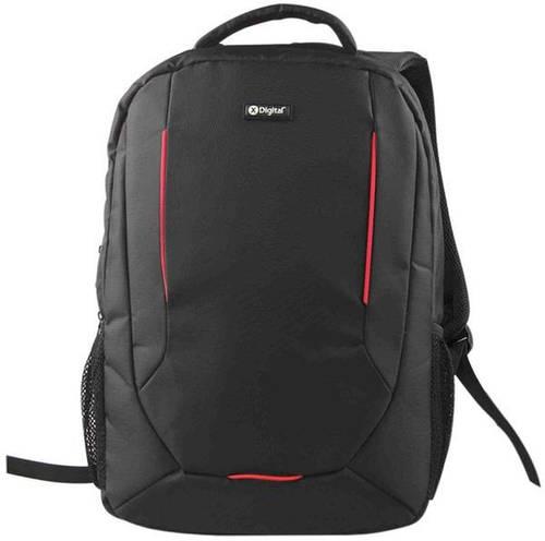 """Черный рюкзак для города с отделением для ноутбука 16"""" X-Digital 6277209, 10 л."""