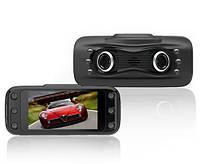 """Автомобильный видеорегистратор F11, обзор 120°, экран 2,7"""", двойная камера 3 мп"""